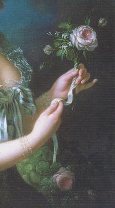Marie Antoinette a la rose-Inspiration Lane