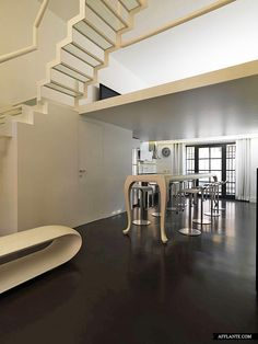 The Federico Delrosso Architects Renovated And Designed A Former Factory Into Amusing Twin Lofts Which Can Be Found In Milan Italy