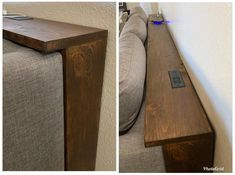 Behind the Couch Console Table Plans, Couch table Furniture Projects, Home Projects, Geek Furniture, Furniture Storage, Couch Storage, Modern Furniture, Outdoor Projects, Furniture Design, Basement Furniture
