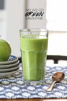 My Go-To Green Smoothie