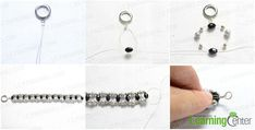 Easy beading pattern to create the beading bracelet