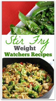 A stir-fry is a great way to get plenty of flavor in one dish, and you can't beat the clean-up! When you hear the word fry, you don't typically think Weight Watchers dish or healthy, but this method is actually a great way to eat.