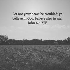 John 14:1 KJV