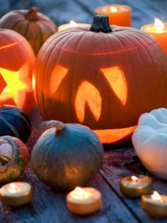 One of the top reasons we love fall? Carving jack-o'-lanterns!