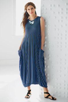 Sleeveless Eclipse Dress by Heydari (Knit Dress) | Artful Home