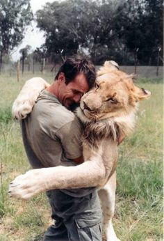Kevin Richardson makes me want to get friendly with lions. or Kevin Richardson. Kevin Richardson, Beautiful Creatures, Animals Beautiful, Cute Animals, Wild Animals, Baby Animals, Beautiful Lion, Pretty Animals, Unique Animals