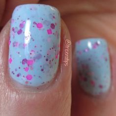 Cotton Candy by Drip Drop Nail Paint