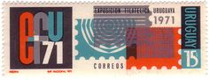 stamps from uruguay from 1971