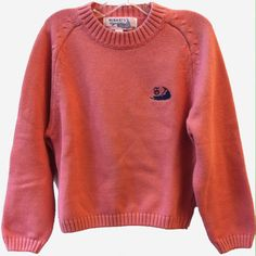 Nantucket Red Collection Kids Flat Knit Crewneck Sweater