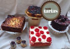 Mesa dulce frutos del bosque: tarta queso, Apple pie, red Velvet con fresa, tarta con corazón de oreo....hecho por Sontartas