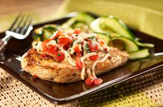 Grilled Bruschetta Chicken 3 Points WeightWatchers