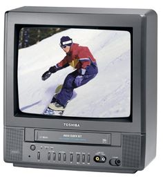 Toshiba MV13M2 13-Inch TV/VCR Combo , Black  for more details visit :http://tv.megaluxmart.com/