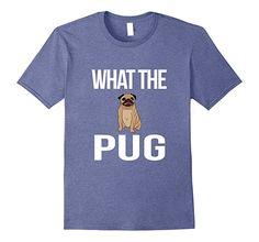 Amazon.com: Cute Pug Dog T-Shirt: Clothing