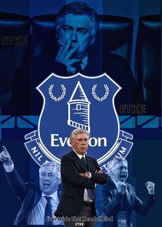 Carlo Ancelotti edit ETKE Everton's the Kendall end