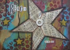 reach - 5 x 7 ORIGINAL COLLAGE by Nancy Lefko by collageartgirl on Etsy https://www.etsy.com/listing/82585710/reach-5-x-7-original-collage-by-nancy