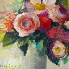 Erin Fitzhugh Gregory--botanical-flowers-art-flowers.jpg (736×742)