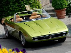 1969 Maserati Ghibli Spider Maintenance/restoration of old/vintage vehicles: the material for new cogs/casters/gears/pads could be cast polyamide which I (Cast polyamide) can produce. My contact: tatjana.alic14@gmail.com