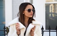 We now carry Guess by Marciano ✨🥂 Girl With Sunglasses, Sunglasses Women, Trendy Outfits, Trendy Fashion, Sun Shop, Sheepskin Coat, Guess By Marciano, Polarized Sunglasses, Winter Sun