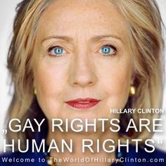 hillary clinton, gay rights why in 2012 do we still need to tell people this