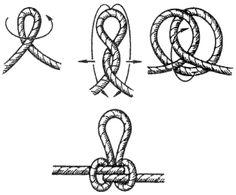Fishing Hook Knots, Fly Fishing, Knots Guide, Knots Landing, Recurve Bows, Camping Survival, Japan Art, Paracord, Bracelet Making