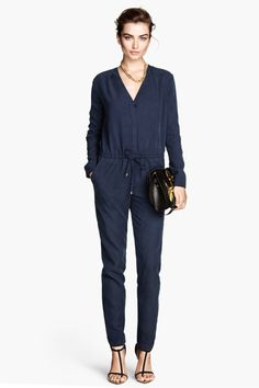 The One Item That Will Change Your Fall Morning Routine #refinery29  http://www.refinery29.com/fall-jumpsuits#slide7