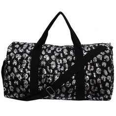 Leopard Cheetah Pattern Sequined Dance Yoga Cheer Duffle Bag 3b5003b6435e0