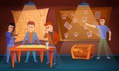 Recopilación de experiencias con escape room educativos Narnia, Escape Room, Game Concept, Motion Design, Cartoon Styles, Design Bundles, Web Design, Banner, Games