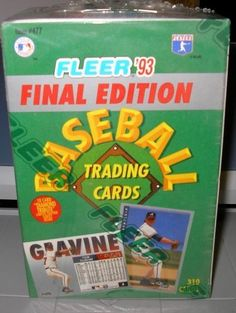 FLEER BASEBALL 1993 FINAL EDITION(TRADED SET) 310 CARDS, MANY ROOKIES by Fleer. $9.50. THIS IS THE HI NUMBER SERIES FOR FLEER. SHORT PRINTED AND LOADED WITH ROOKIES.