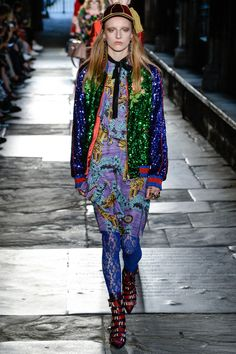 Gucci Resort 2017 Collection Photos >> this is SO ME. I love everything about it.