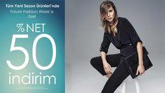 Batik Forum Fashion Week'e Özel %50 İndirim