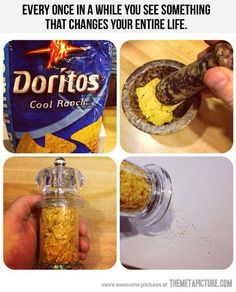 Something that changes your entire life…. Would be good for popcorn seasoning!
