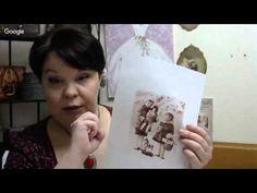 Людмила Михайловская  Винтажная коробка открытка для печенья и сладостей