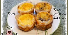 Low Carb Cooking with Sandi: Low Carb Crustless Ricotta Quiche Cups