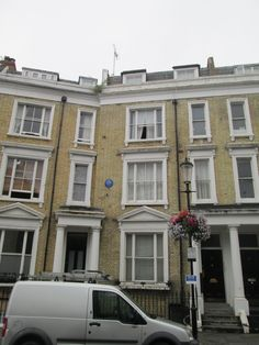 """The home of """"Carry On"""" actress Hattie Jacques from London Townhouse, London House, London City, Earls Court London, England, Carry On, Famous People, Exploring, United Kingdom"""