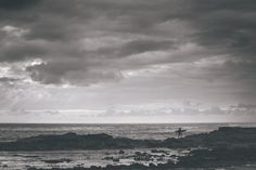 Explore - Black & White - Surf and Ocean Art