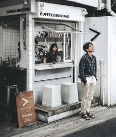 Cheap Home Decorating Ideas Small Coffee Shop, Coffee Store, Japanese Coffee Shop, Coffee Bar Design, Coffee Shop Interior Design, Cafe Shop Design, Kiosk Design, Container Coffee Shop, Mini Cafe