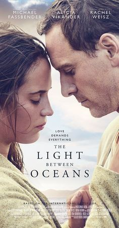 Directed by Derek Cianfrance.  With Alicia Vikander, Michael Fassbender, Rachel Weisz, Bryan Brown. A lighthouse keeper and his wife living off the coast of Western Australia raise a baby they rescue from an adrift rowboat.