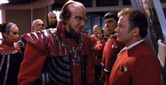 Star Trek VI - The Undiscovered Country - one of the best Trek films, IMHO, because it captures the characters as I remembered them from the TV series while still telling a good story (always the strength of trek)