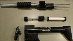 Tactical Shotgun, Tactical Gear, 3d Printed Mask, Survival Rifle, Rubber Band Gun, Gun Art, Gun Storage, Patent Drawing, Cardboard Paper