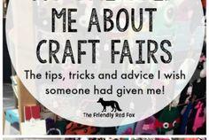 Tips for a Succesful Craft Fair