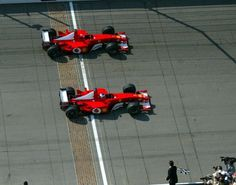 On this day in 2002, Rubens Barrichello pipped Michael...