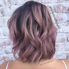 WEBSTA @ pulpriothair - Mauve... @hairtailoredbytaylor from @dnalaburbana is the…