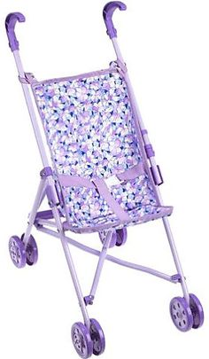 You & Me Umbrella Doll Stroller - White with Polka Dots - Toys R ...