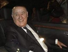 Amancio Ortega, hombre más rico del mundo