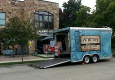 Street festival with Whimsy on wheels