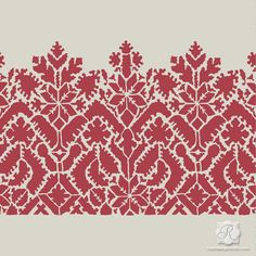 Moroccan Lace Craft Stencil for Diy Projects ($17) ❤ liked on Polyvore featuring black, home & living, home décor, wall decals & murals and wall décor