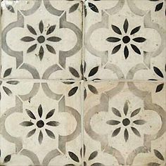 I'd like to find a ceramic tile that looks like this cement tile (to pass health if possible) for the doorway between the Taqueria line and the Bar. Blue tile to 5 ft (see other pic) and this to ceiling. pics 27 Kitchen Tile Backsplash Ideas We Love Kitchen Tiles, Kitchen Design, Kitchen Floor Tile Patterns, Terracota, Blue Tiles, Moorish, Beautiful Kitchens, Beautiful Interiors, Tile Design