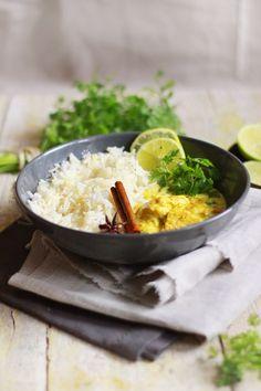Filets de poulet à l'indienne | Marinade citron vert, coco, cannelle et curry