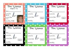 CERTIFICATES - PEN LICENCE   Crafts for kids   Certificate ...