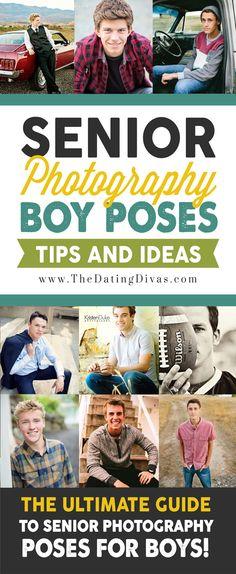 Senior Photography Pose Ideas for Guys